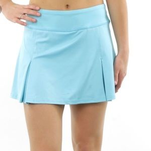 Prince Two Pleated Tennis Skirt - Blue